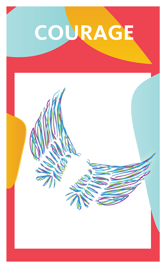 Healing Card image for courage